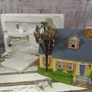 dept 56 55090 happy easter house 2001 xmas village